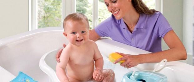 Как купать новорожденного ребенка?